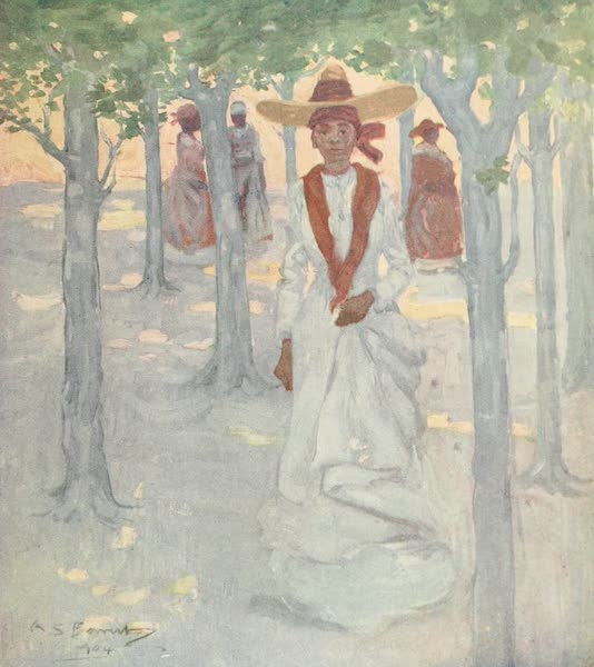 The West Indies, Painted and Described - A Guadeloupe Lady (1905)