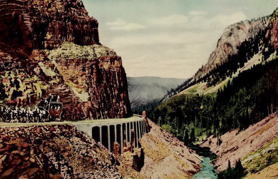 The Wonders of Geyserland - The Golden Gate, Yellowstone Park (1913)