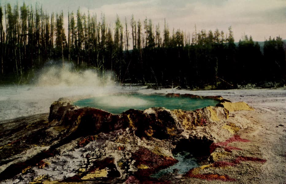 The Wonders of Geyserland - Punch Bowl Spring, Yellowstone Park (1913)