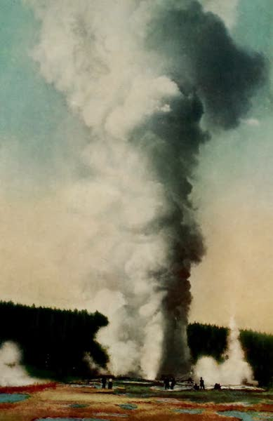 The Wonders of Geyserland - Giant Geyser, Yellowstone Park (1913)