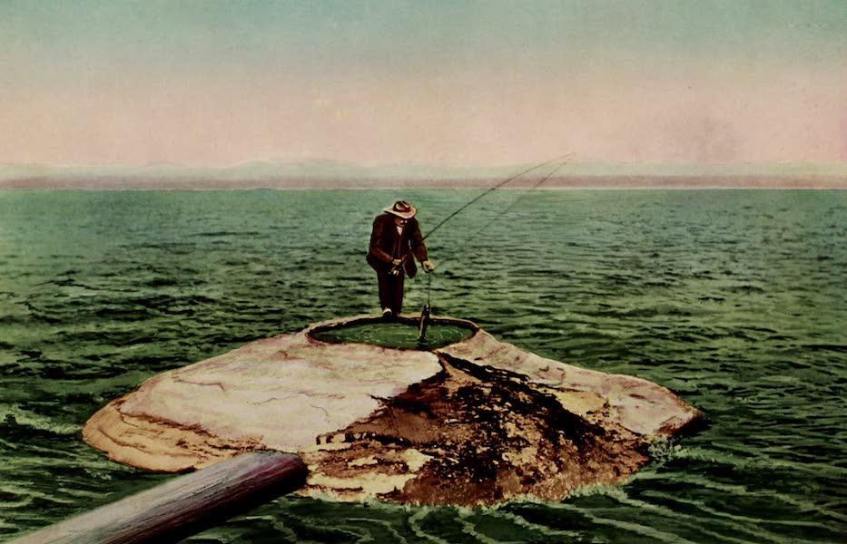 The Wonders of Geyserland - Fish Pot Hole Spring and Yellowstone Lake (1913)