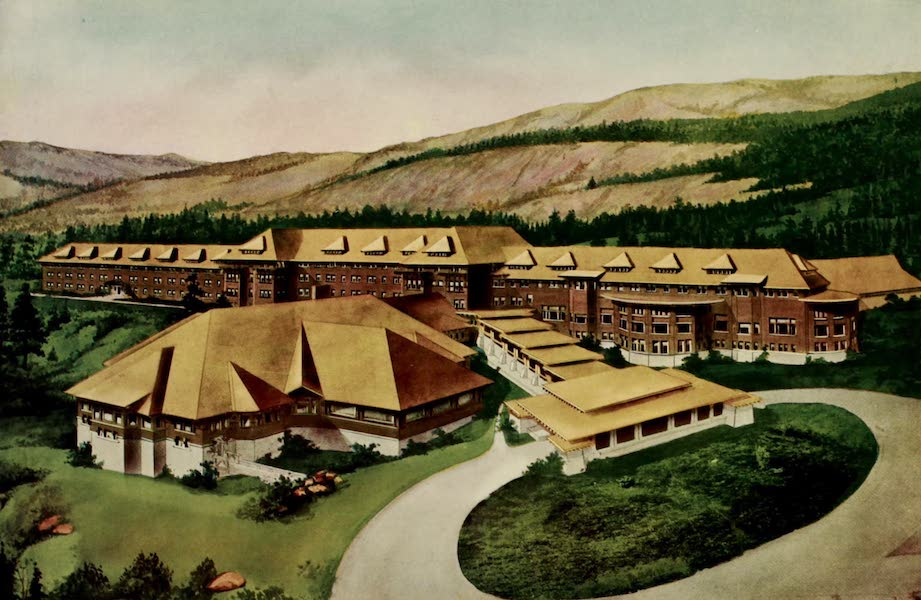 The Wonders of Geyserland - The Grand Canyon Hotel, Yellowstone Park (1913)
