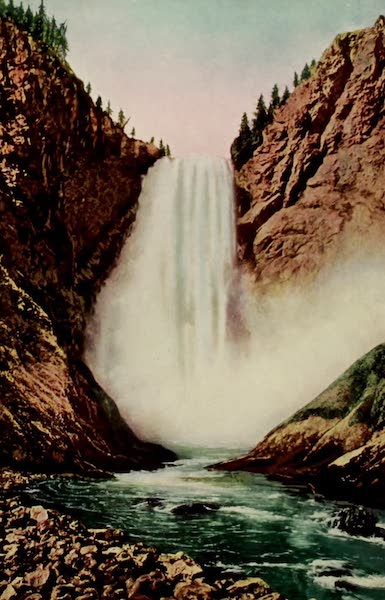 The Wonders of Geyserland - The Great Falls of the Yellowstone (From Below) (1913)