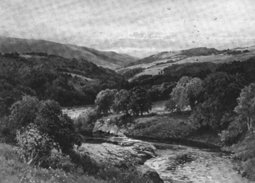 The Wye Painted and Described - Above Builth (1910)