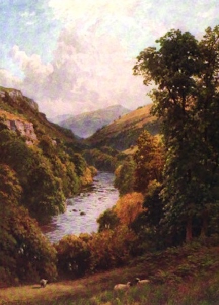 The Wye Painted and Described - Aberedw and Black Mountains (1910)