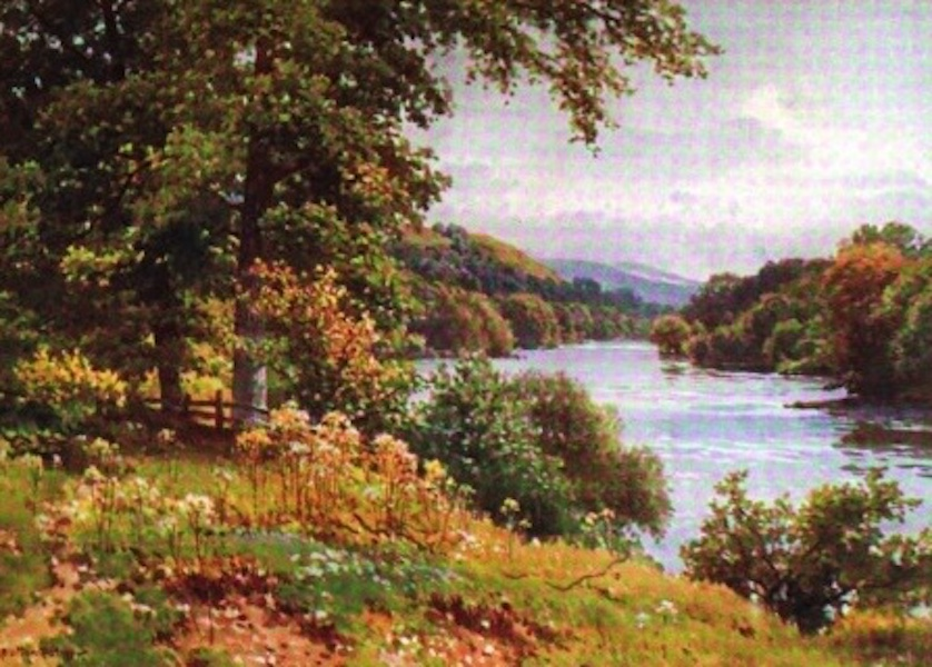 The Wye Painted and Described - Near Erwood (1910)