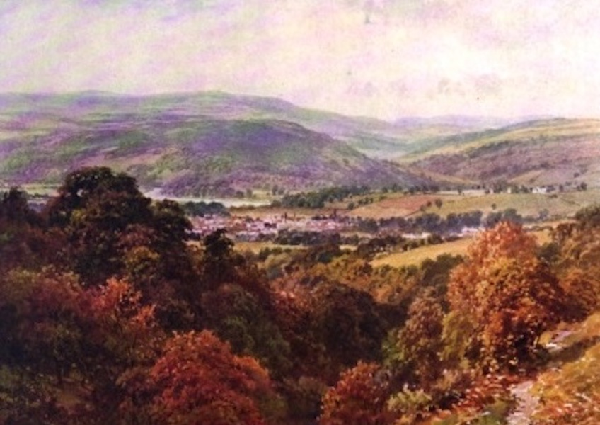 The Wye Painted and Described - Hay, and Radnor Forest (1910)