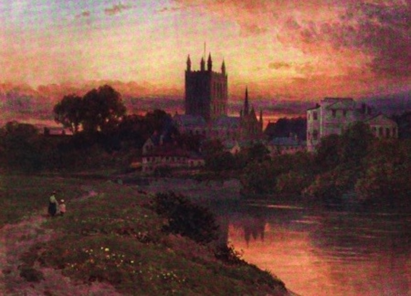 The Wye Painted and Described - Hereford (1910)