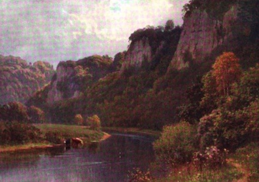 The Wye Painted and Described - Coldwell Rocks (1910)