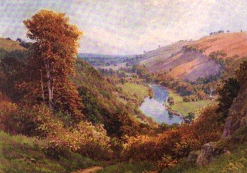 The Wye Painted and Described - Huntsham Loop - above Symond's Yat (1910)