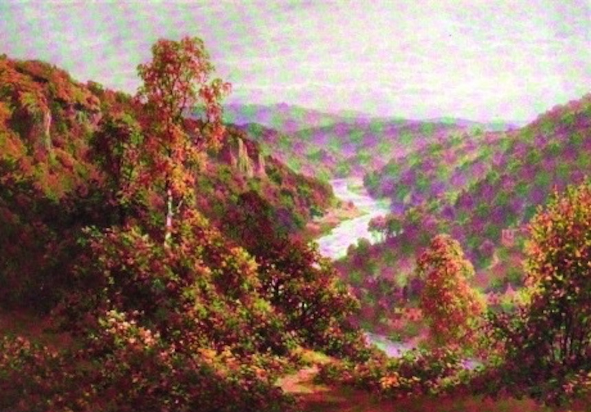 The Wye Painted and Described - Symond's Yat (1910)