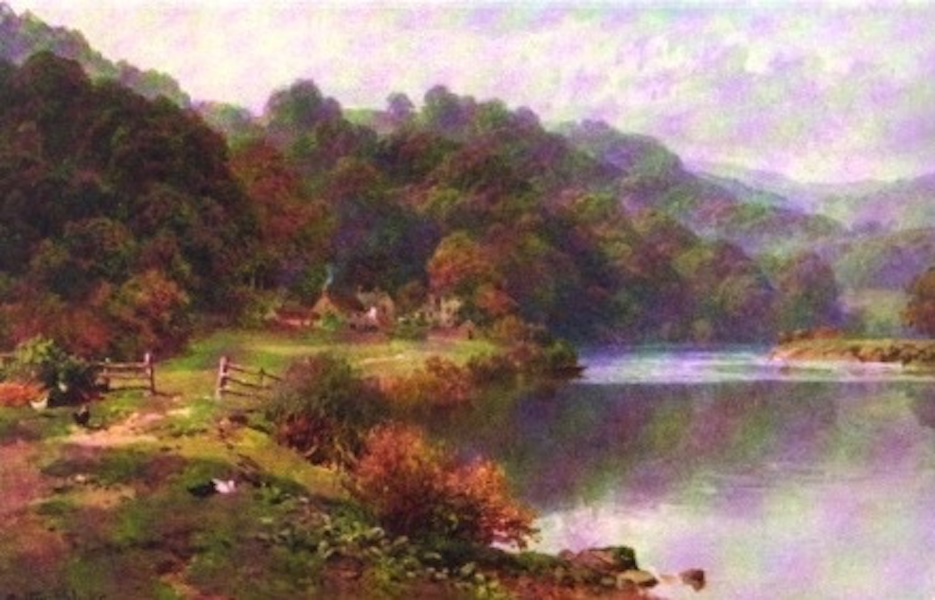 The Wye Painted and Described - Above Monmouth (1910)