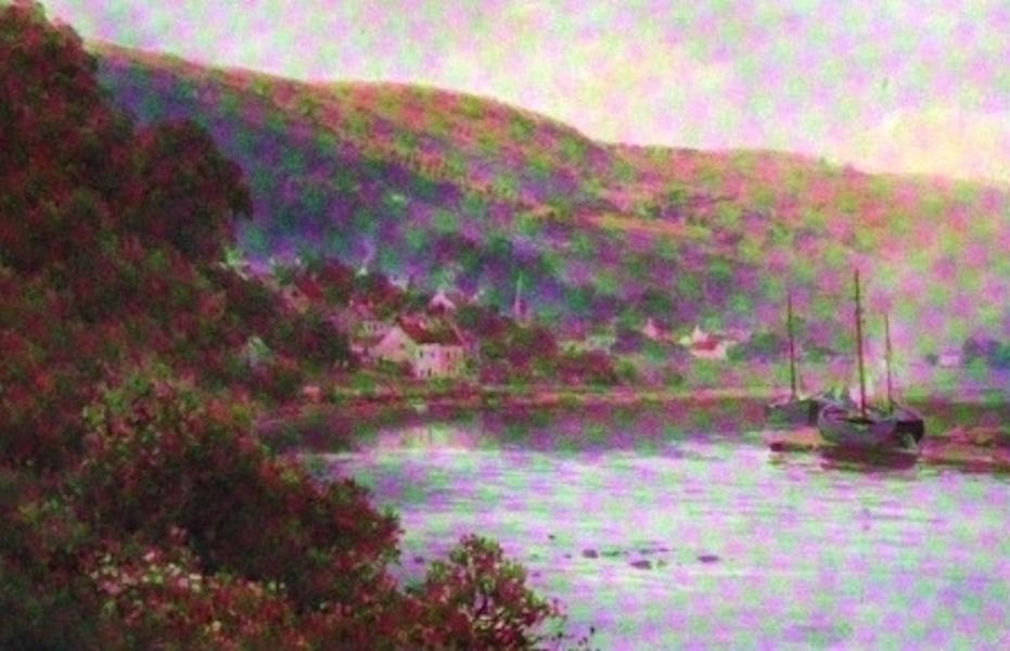 The Wye Painted and Described - Llandogo (1910)