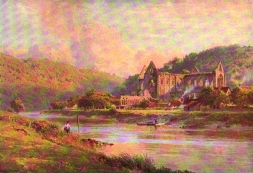 The Wye Painted and Described - Tintern Abbey (1910)