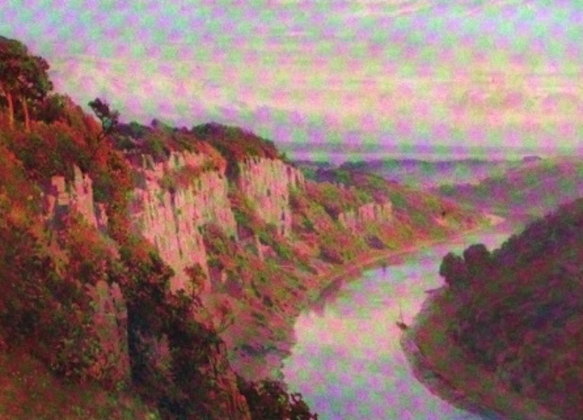The Wye Painted and Described - Above Chepstow (1910)