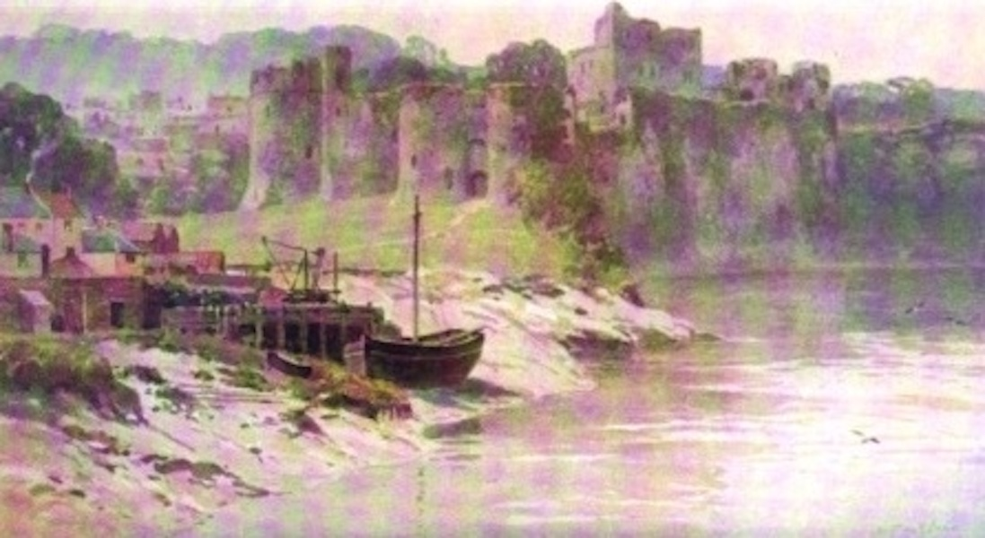 The Wye Painted and Described - Chepstow Castle (1910)