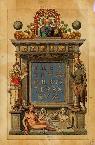 Theatrum Orbis Terrarum - Title Page (1570)