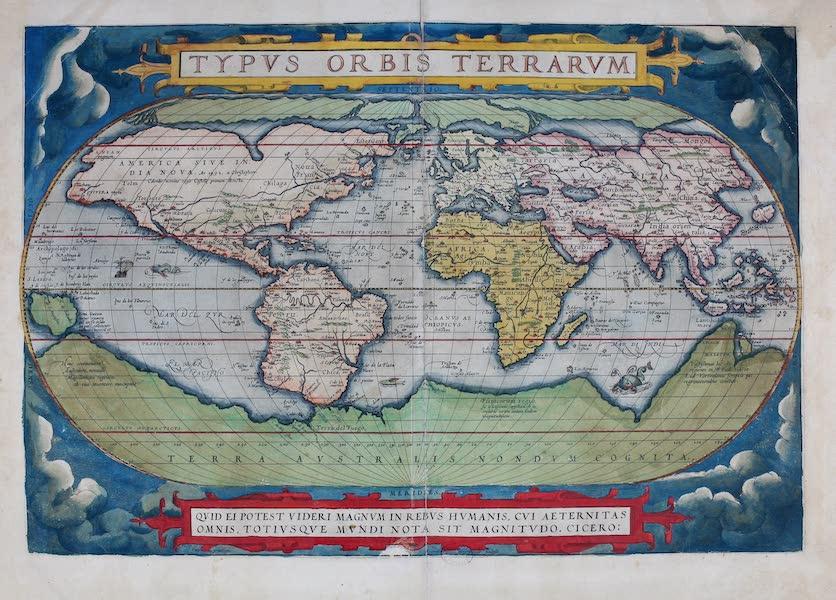 Theatrum Orbis Terrarum - Typus Orbis Terrarum (1570)