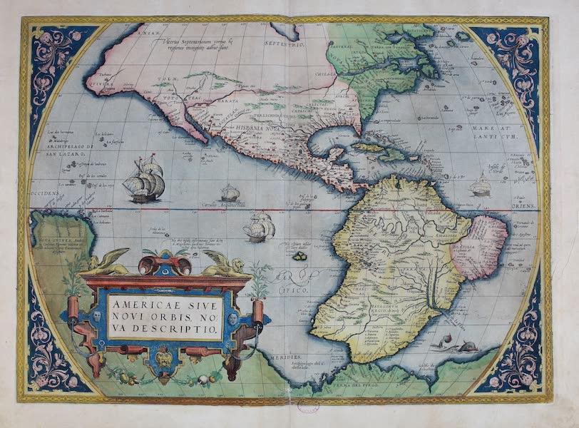 Theatrum Orbis Terrarum - America Sive Novi Orbis Nova Descriptio (1570)