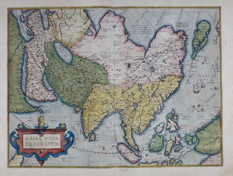 Theatrum Orbis Terrarum - Asiae Nova Descriptio (1570)