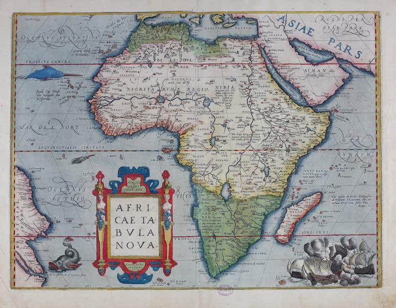 Theatrum Orbis Terrarum - Africae Tabula Nova (1570)