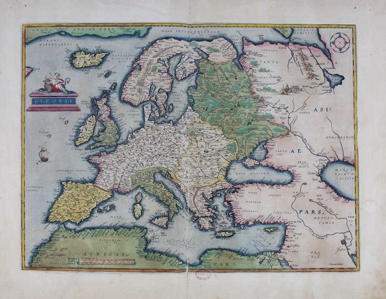 Theatrum Orbis Terrarum - Europae (1570)