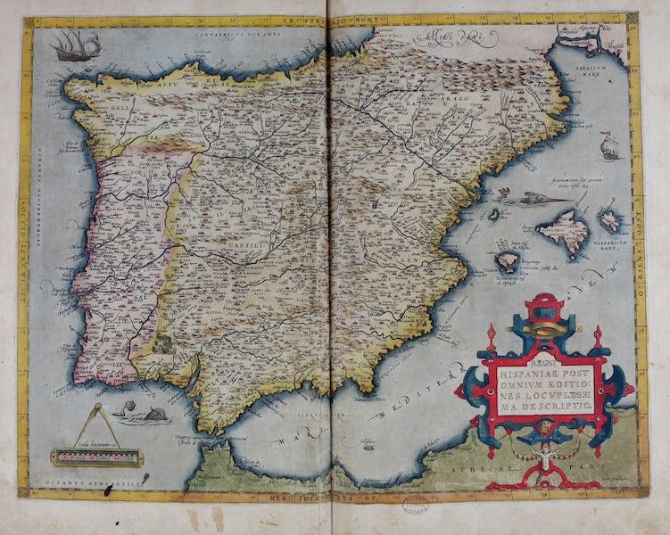 Theatrum Orbis Terrarum - Regni Hispaniae (1570)