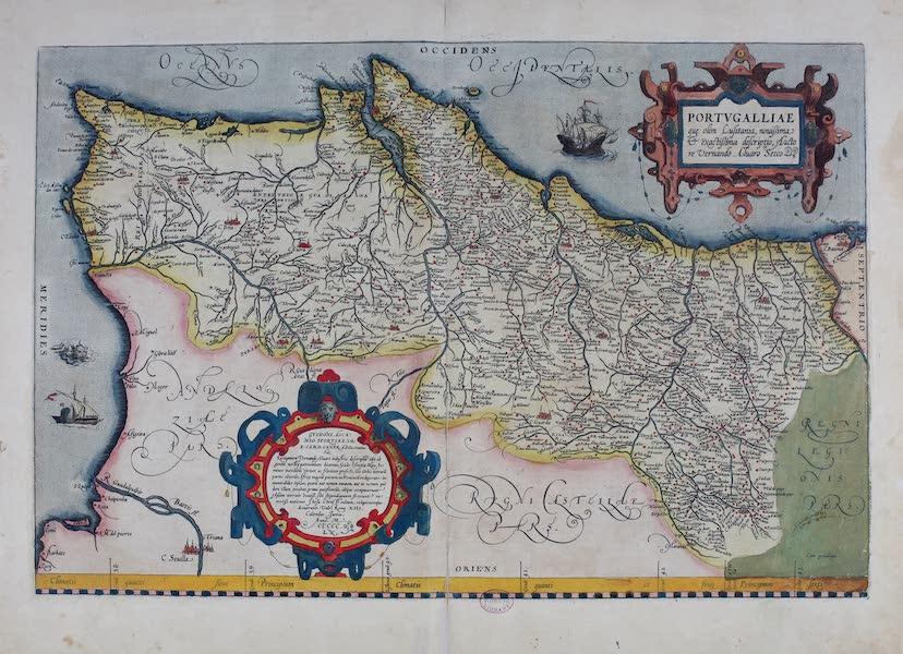 Theatrum Orbis Terrarum - Portugalliae (1570)