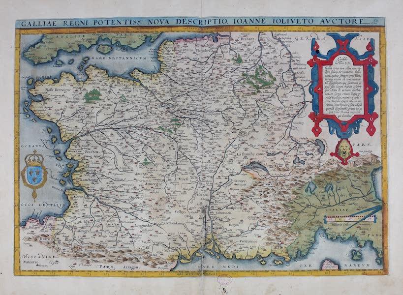 Theatrum Orbis Terrarum - Galliae Regni Potentiss (1570)