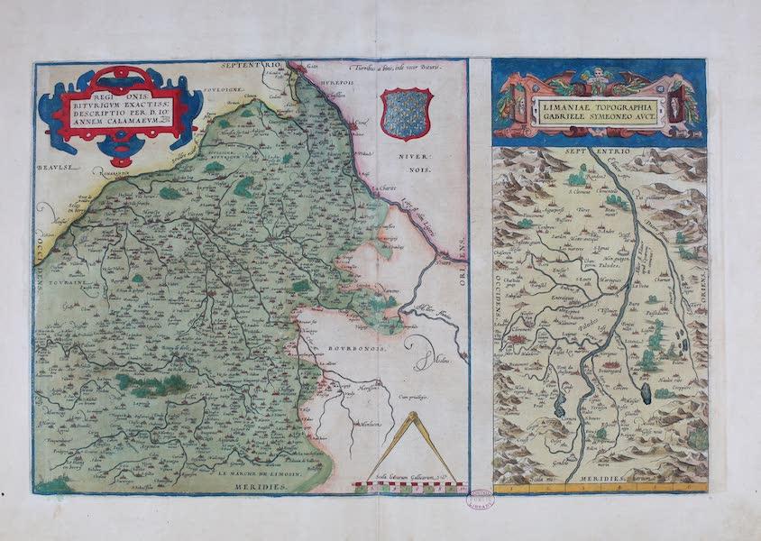 Theatrum Orbis Terrarum - Regionis Biturigum Limaniae (1570)
