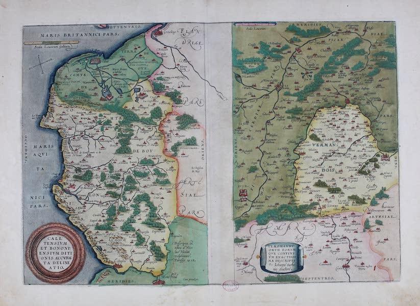 Theatrum Orbis Terrarum - Caletensium Verom. (1570)