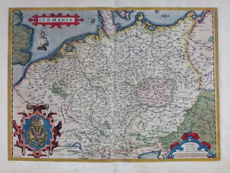 Theatrum Orbis Terrarum - Germania (1570)