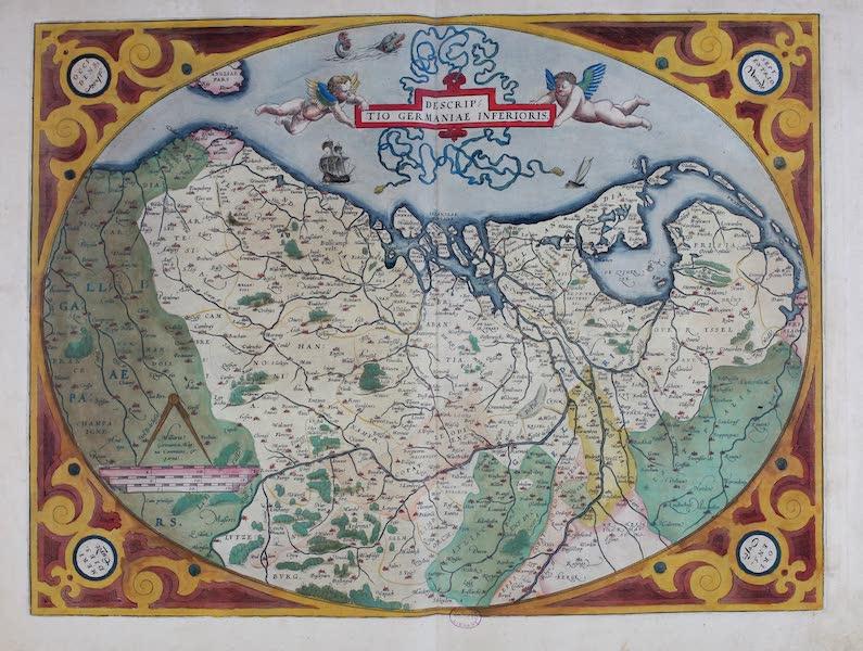Theatrum Orbis Terrarum - Descriptio Germaniae Inferioris (1570)