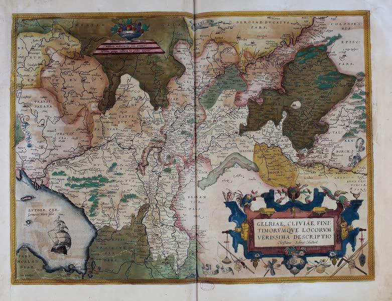 Theatrum Orbis Terrarum - Gelriae, Cliviae Finitimorumque Locorumverissima Descriptio (1570)