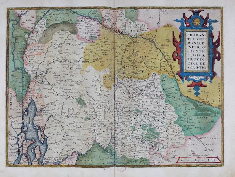 Theatrum Orbis Terrarum - Brabantiae (1570)