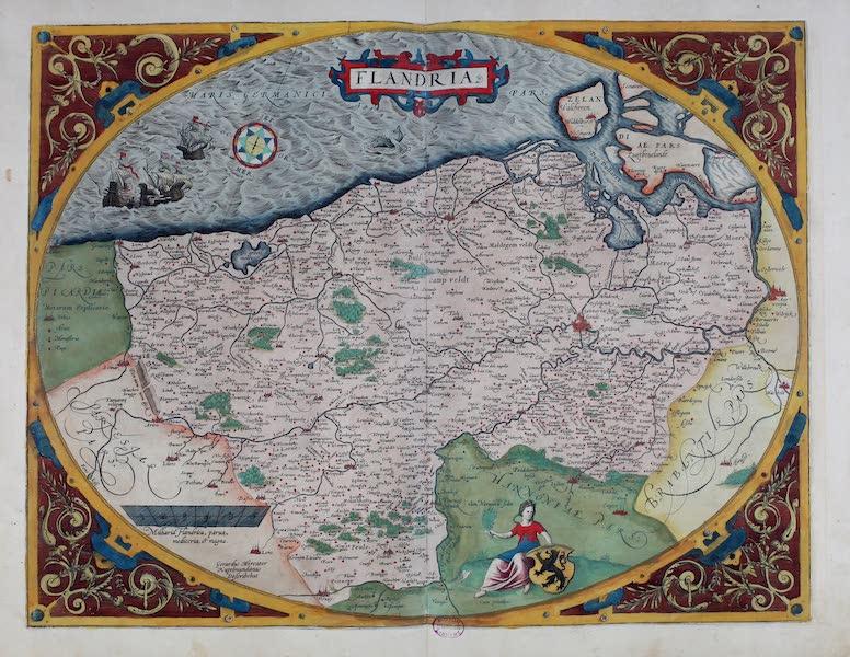 Theatrum Orbis Terrarum - Flandria (1570)