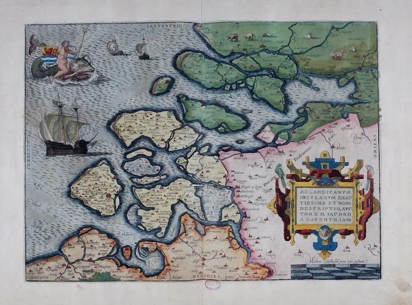 Theatrum Orbis Terrarum - Zelandicarum et Prussiae Descriptio (1570)
