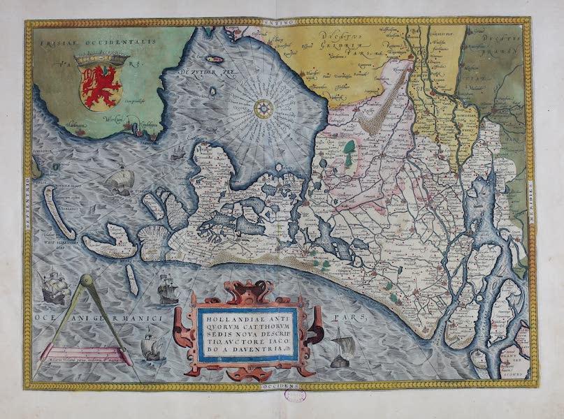 Theatrum Orbis Terrarum - Hollandiae (1570)