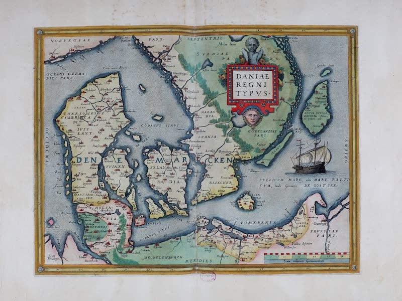 Theatrum Orbis Terrarum - Daniae Regni Typus (1570)