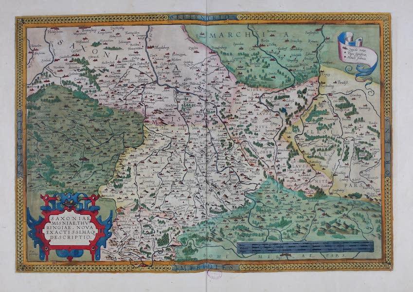 Theatrum Orbis Terrarum - Saxoniae (1570)