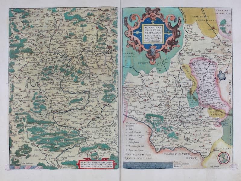 Theatrum Orbis Terrarum - Franciae Orientalis Monasteriensis (1570)