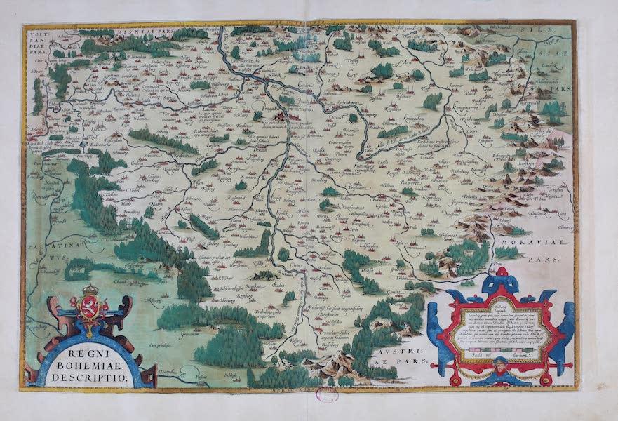 Theatrum Orbis Terrarum - Regni Bohemiae Descriptio (1570)