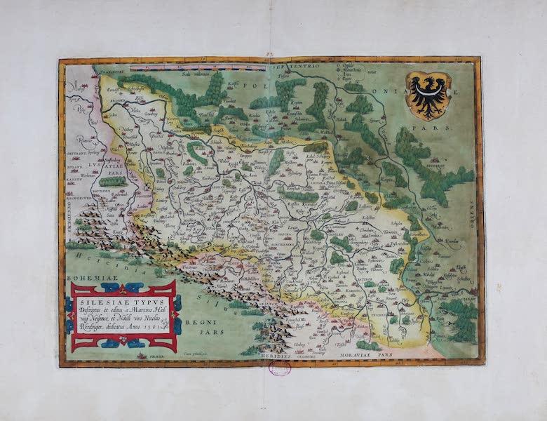 Theatrum Orbis Terrarum - Silesiae Typus (1570)