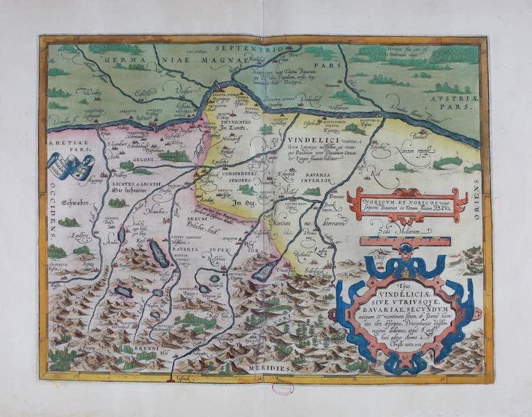 Theatrum Orbis Terrarum - Typus Vindelicae (1570)