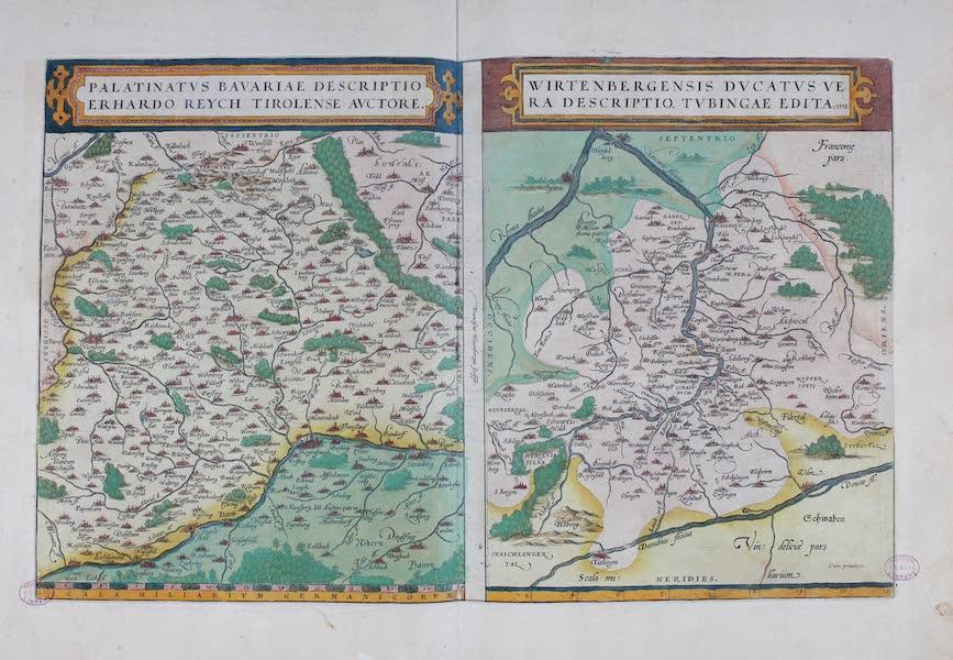 Theatrum Orbis Terrarum - Palatinatus Bavariae Descriptio et Wirtenbergensis Duvatus Vera Descriptio (1570)