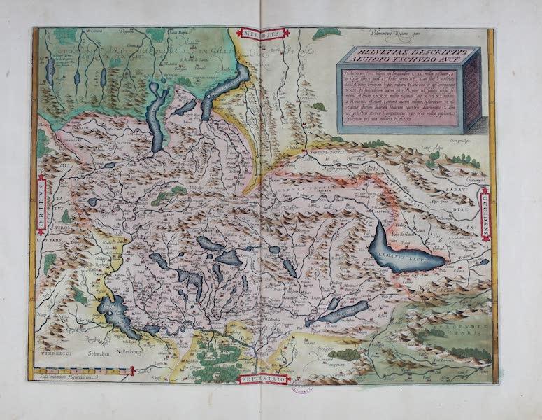 Theatrum Orbis Terrarum - Helvetiae Descriptio Aegidio (1570)