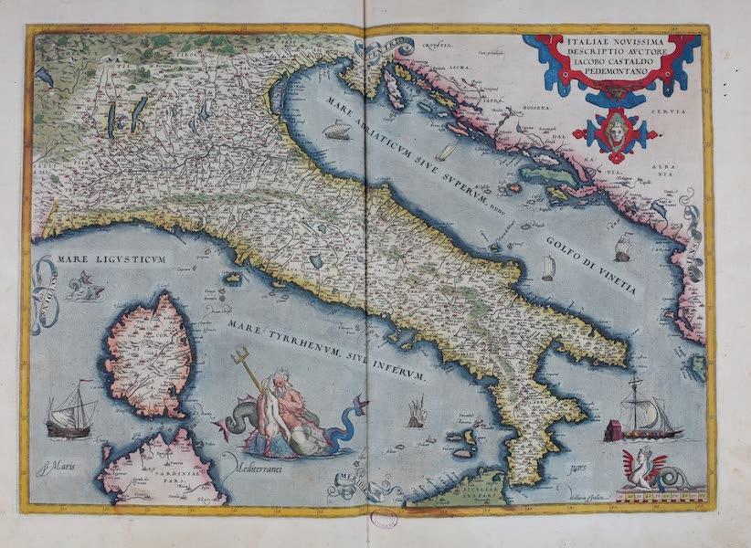 Theatrum Orbis Terrarum - Italia Novissima Descriptio (1570)
