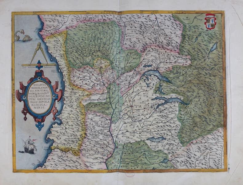 Theatrum Orbis Terrarum - Ducatus Mediolanensis (1570)