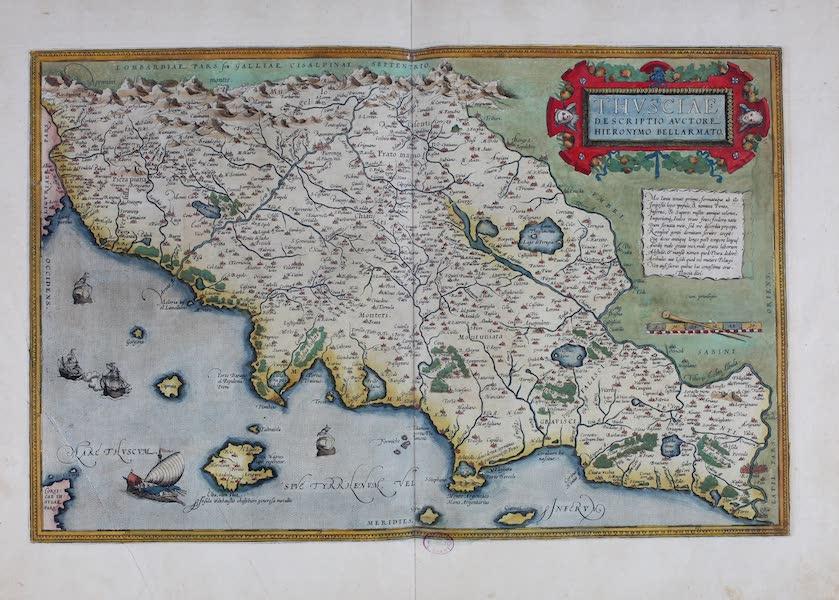 Theatrum Orbis Terrarum - Thusciae (1570)