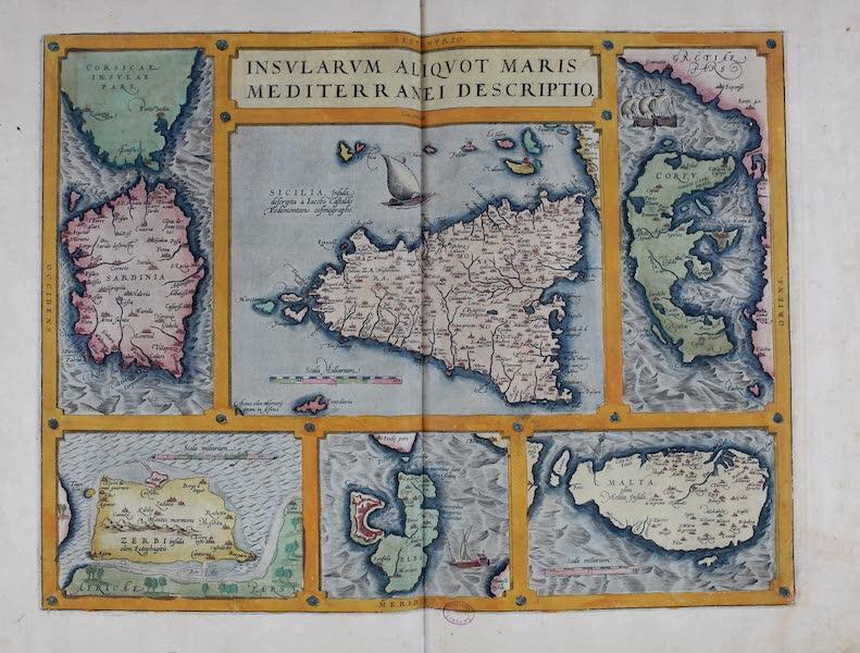 Theatrum Orbis Terrarum - Insularum Aliquot Maris Mediterranei Descriptio (1570)
